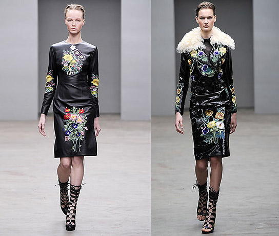 London Fashion Week: Наоми Кэмпбелл на показе Christopher Kane