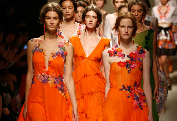 Milan Fashion Week: показ Alberta Ferretti