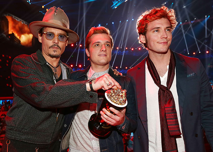 Церемония MTV Movie Awards-2014