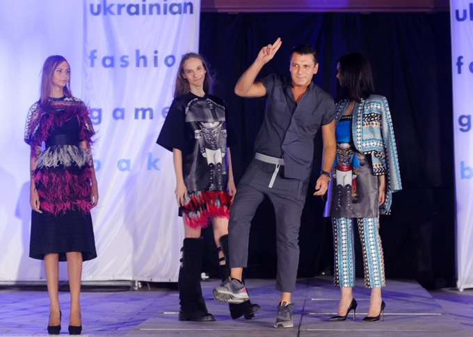 Ukrainian Fashion Games Open Baku: показ AVTANDIL