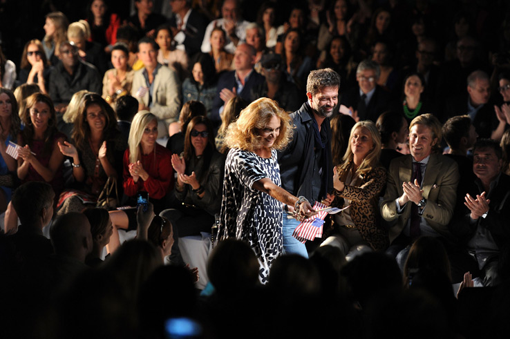 New York Fashion Week: Diane von Furstenberg и Victoria Beckham