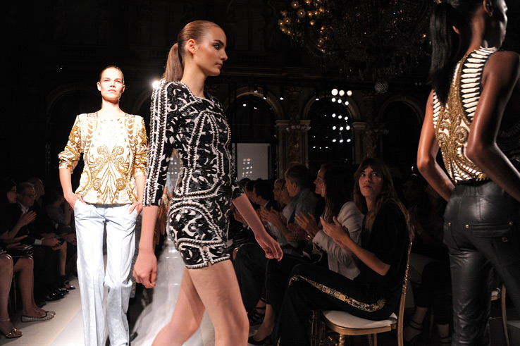 Paris Fashion Week: Balmain и Nina Ricci