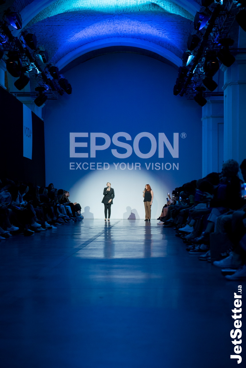 Epson Digital Fashion Show в рамках UFW