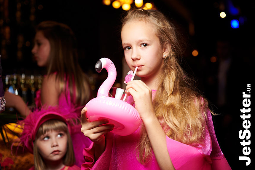 Flamingo Party в ресторані Boho